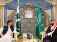 بن سلمان ورئيس وزراء باكستان يبحثان التطورات الإقليمية فى الرياض