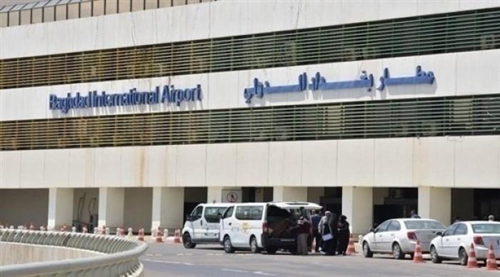 توقف حركة الملاحة الجوية في مطار بغداد الدولي