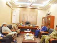 خلال استقباله العميد باعش.. الرئيس الزُبيدي يوجه القوات الخاصة بالحفاظ على جاهزيتها