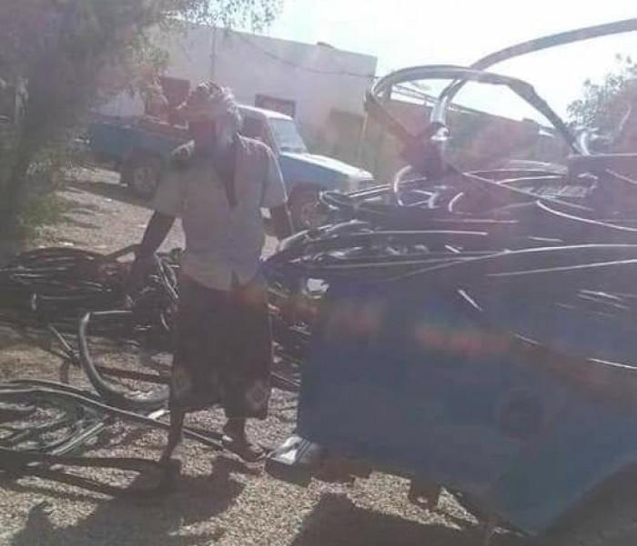 القبض على متهمين بحصوين تورطا بسرقة كابلات بـ15 مليون ريال