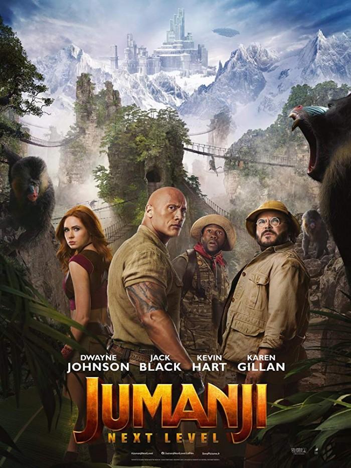 """فيلم """"Jumanji: The Next Level"""" يتصدر شباك السينما الأمريكية"""