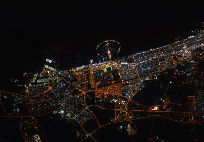 محطة فضاء روسية تنشر صورة لـ دبي