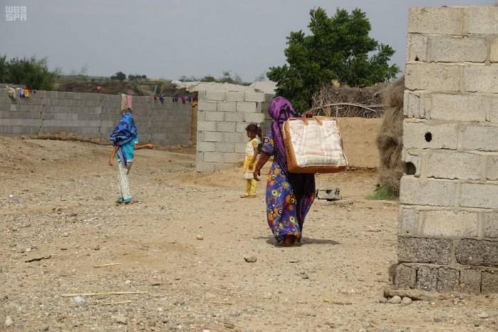 مساعدات إيوائية للنازحين في حيران