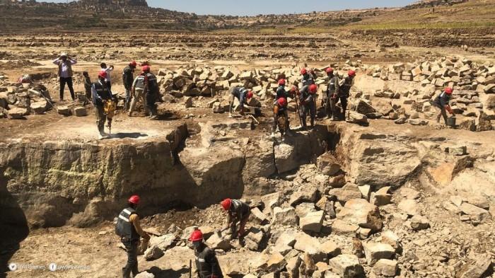 """""""الغذاء العالمي"""" يوفر مياه الشرب النظيفة للمواطنين في بني بشير"""