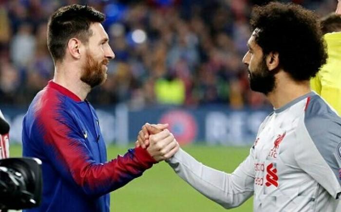 صلاح خامسا وميسي في الصدارة بقائمة «الجارديان» لأفضل 100 لاعب في العالم