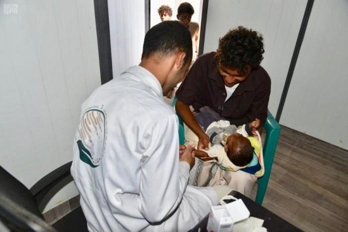 خدمات علاجية جديدة من السعودية لمئات الأشخاص بالخوخة