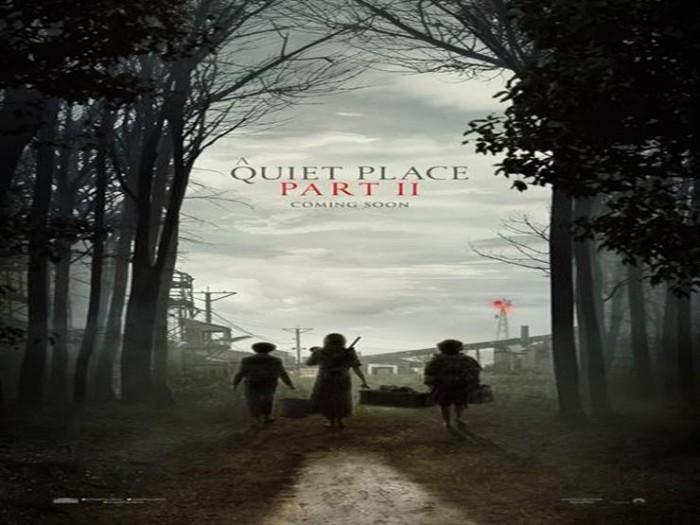 طرح البوستر الأول للجزء الثاني لفيلم A Quiet Place