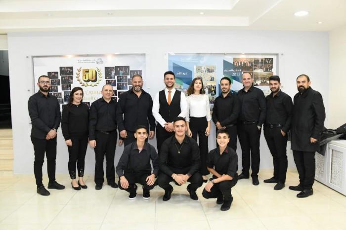 """فرقة """"جيلان"""" تختتم فعاليات مهرجان ليالي الطرب في فلسطين"""