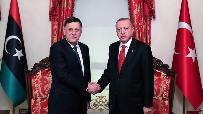 "واشنطن تصف اتفاق أردوغان مع حكومة السراج بـ""الاستفزازي"""