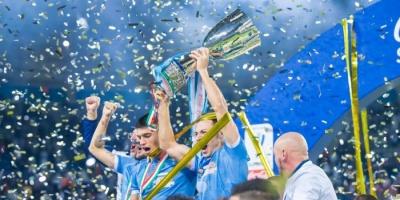 استقبال الأبطال للاتسيو بعد الفوز بالسوبر الإيطالي أمام يوفنتوس