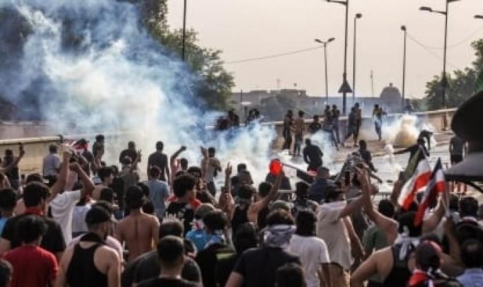 الاتحاد الأوروبى يطالب بإنهاء العنف ضد المتظاهرين بالعراق