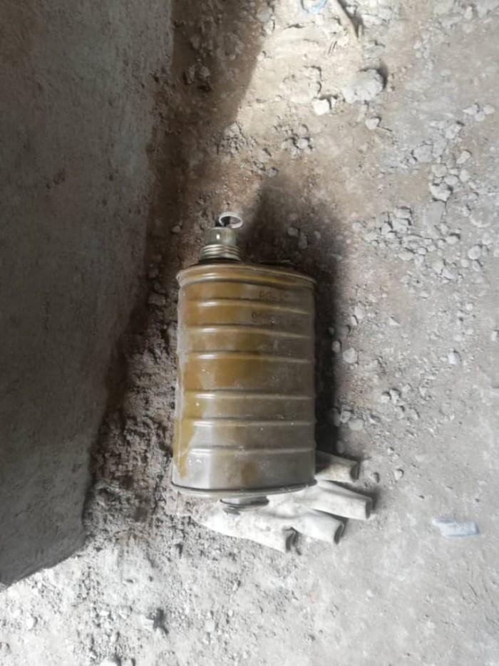 بالصور..العثور على عبوة ناسفة شديدة الانفجار في الشيخ عثمان بعدن