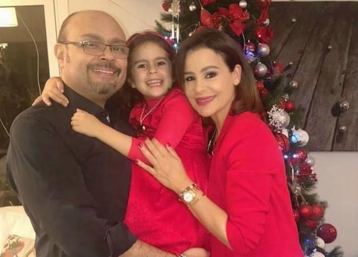 كارول سماحة تحتفل بالكريسماس بصحبة عائلتها (صور)