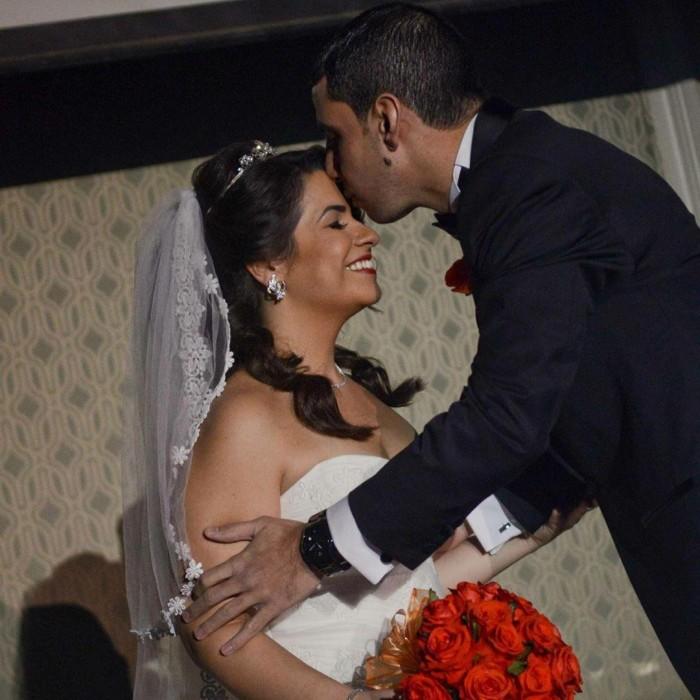 إنجي وجدان تحتفل بعيد زواجها السابع بهذه الطريقة