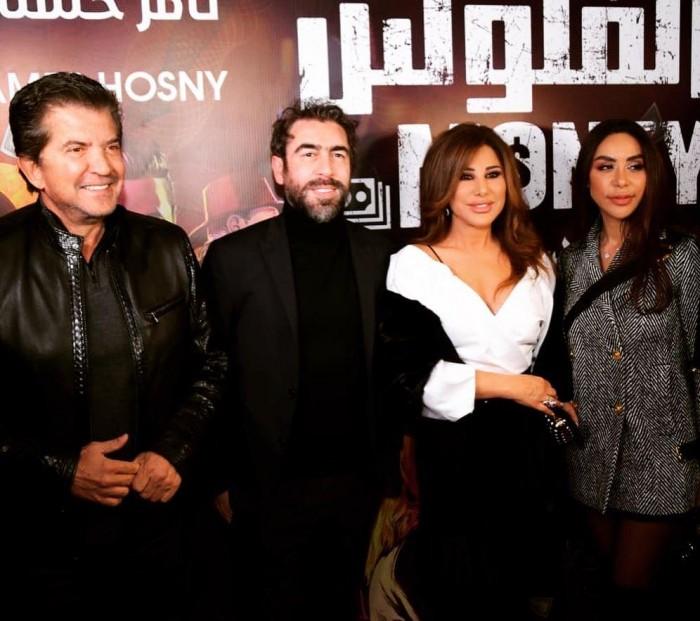 """بالصور.. نجوم لبنان يحتفلون بعرض فيلم """"الفلوس"""" في بيروت"""