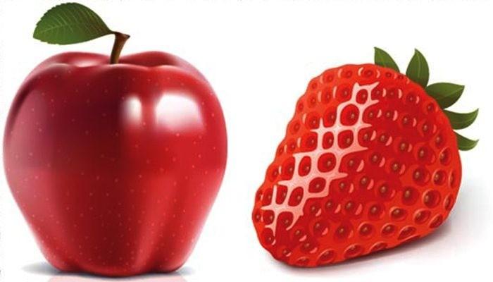 دراسة.. التفاح والفراولة يقللان عملية الشيخوخة