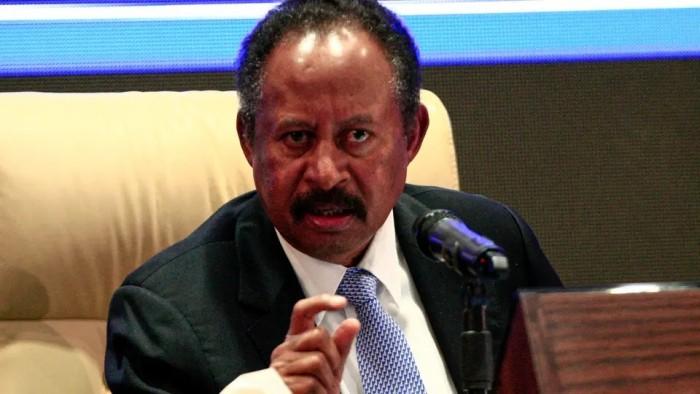 حمدوك يتعهد بتسهيل مهمة البعثة الأممية جنوبي السودان