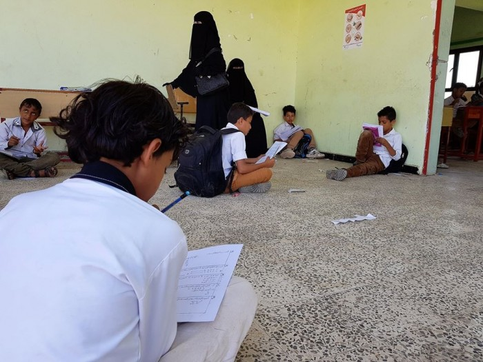 الصليب الأحمر: مليونا طفل تسربوا من التعليم بسبب الحرب