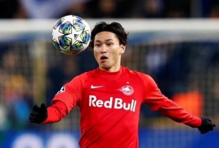 """الياباني """"مينامينو"""" يخوض المران الأول مع ليفربول الإنجليزي"""