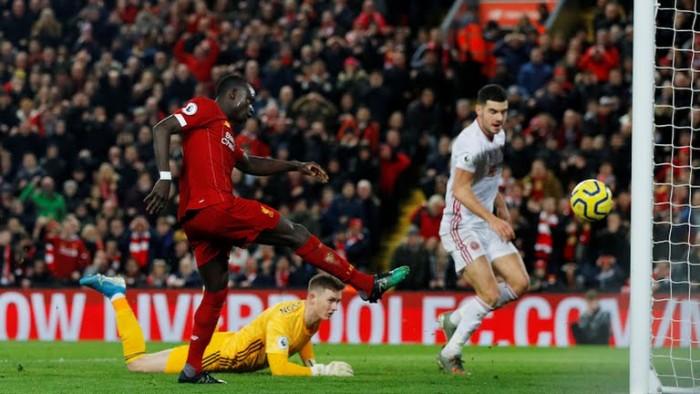 ليفربول يفوز على شيفيلد بهدفين نظيفين