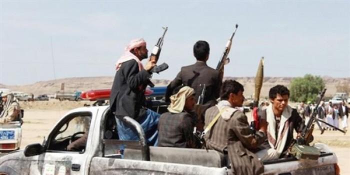 الحوثيون ينهبون منازل في  البدوة بالحديدة