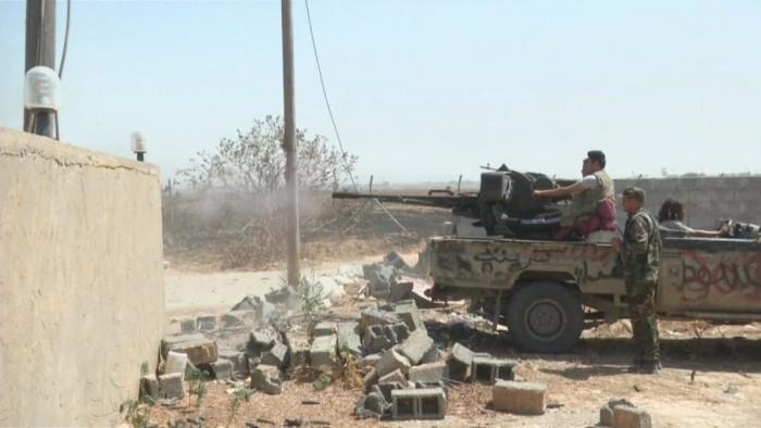 الجيش الليبي يقصف مواقع تابعة لمليشيات الوفاق بطرابلس