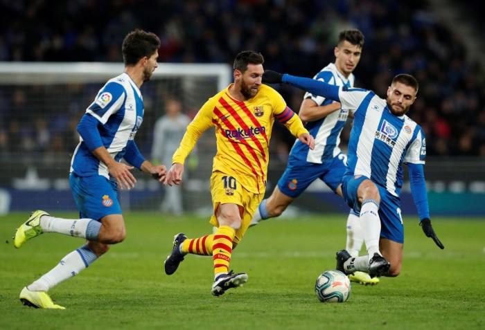 ديربي كتالونيا.. برشلونة يسقط في فخ التعادل أمام إسبانيول