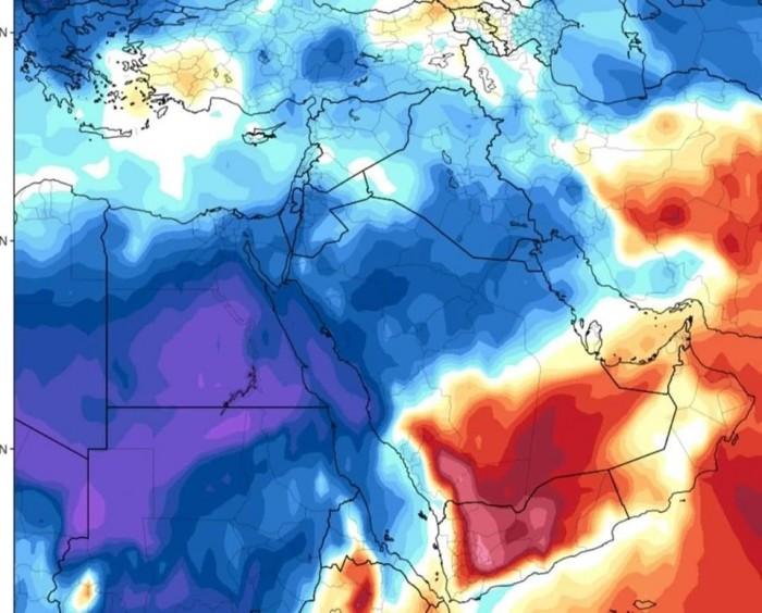 الأرصاد تستبعد تأثير موجة البرد بالجزيرة العربية على الجنوب