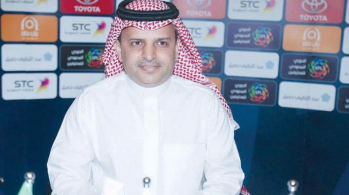 استقالة رئيس رابطة الدوري السعودي
