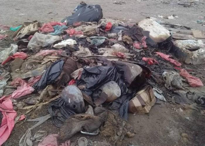 كارثة بيئية تضرب وادي تبن بمحافظة بلحج