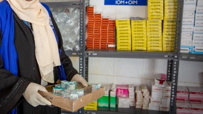 """بدعم """" الهجرة الدولية"""".. توزيع أدوية السل على 105 مركزاً في 7 محافظات"""