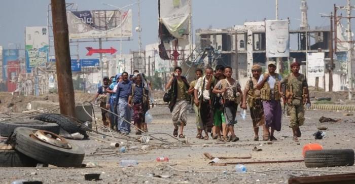 مجدداً..مليشيات الحوثي تواصل استهداف نقاط الارتباط بالحديدة