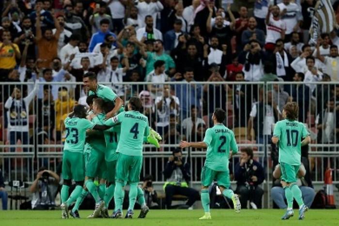 ريال مدريد يقسو على فالنسيا بالثلاثة ويتأهل لنهائي السوبر الإسباني