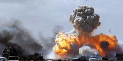 الجيش الوطني الليبي يشن غارات في سرت