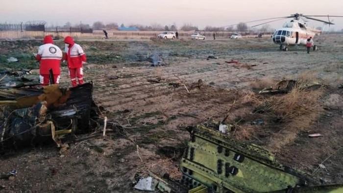 مسؤولون أميركيون: الطائرة الأوكرانية المنكوبة أسقطها نظام صاروخي إيراني مضاد للطائرات