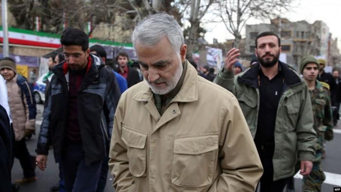 """ترامب: """"سليماني"""" كان يخطط لتفجير سفارتنا ببغداد"""