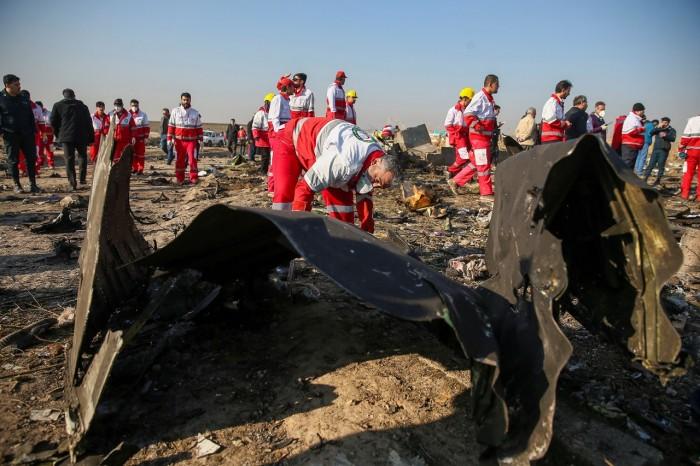 غداً.. إيران تقرر إعلان سبب تحطم الطائرة الأوكرانية