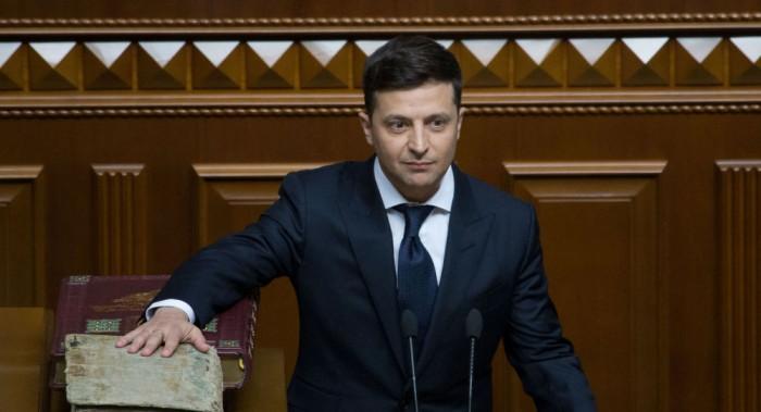 الرئيس الأوكراني بعد اتصال بروحاني: لابد من محاسبة الجناة