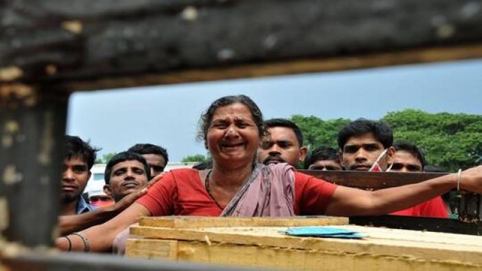 إمرأة هندية تعود للحياة مرة أخرى بعد تحضيرها للدفن