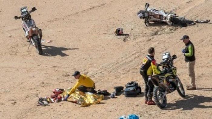 مصرع دراج برتغالي إثر حادث في رالي داكار بالسعودية