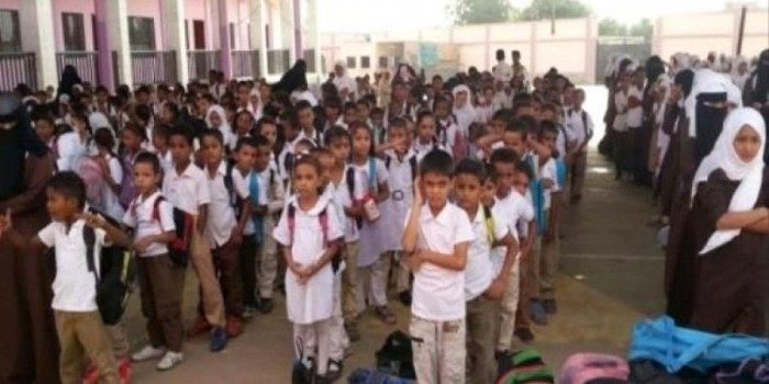 معلمو مدارس نصاب والصعيد يواصلون الإضراب
