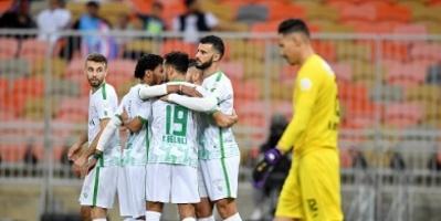 ثنائية السومة تقود الأهلي للفوز على أبها في الدوري السعودي