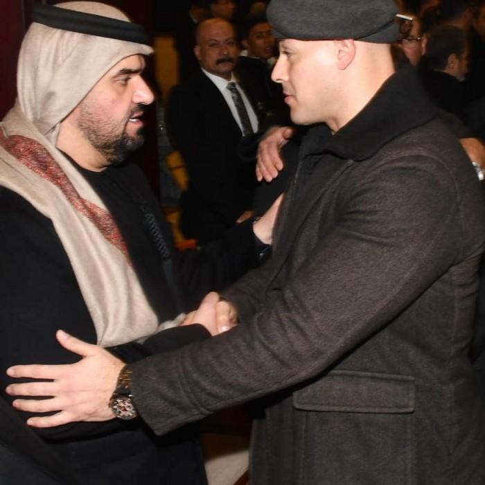 لهذا السبب.. أحمد التهامي يوجه رسالة شكر للنجم حسين الجسمي