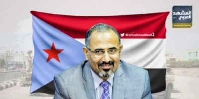 """الزُبيدي: أطرافاً في الشرعية تسعى لعرقلة اتفاق الرياض ونقف مع """"السيسي"""" في مواجهة الإرهاب"""