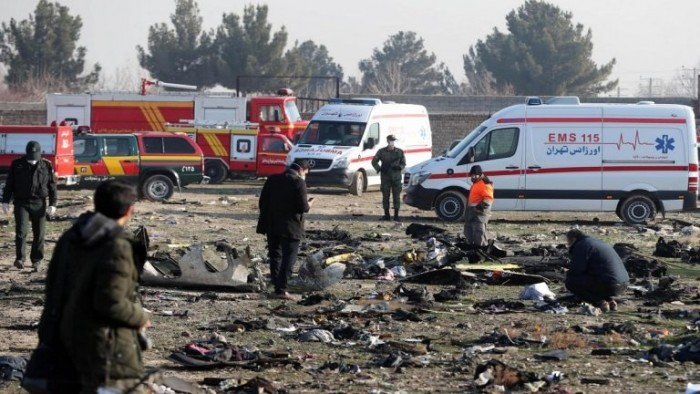 الحرس الثوري الإيراني يحتجز مصور لحظة استهداف الطائرة الأوكرانية
