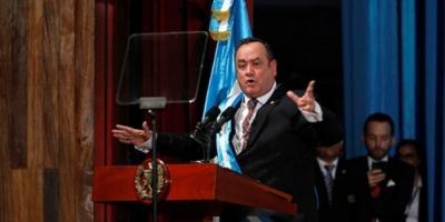 رئيس غواتيمالا الجديد يعلن قطع العلاقات مع فنزويلا