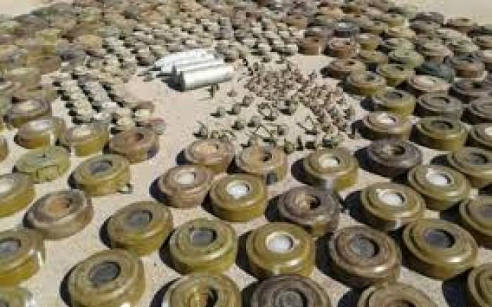 """""""مسام"""" ينزع 10 آلاف لغم من المخا وموزع والوازعية"""