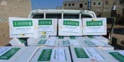 توزيع 25.5 ألف كرتون تمور سعودية في أبين
