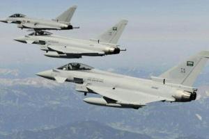 التحالف العربي يقصف إمدادات عسكرية حوثية في نهم