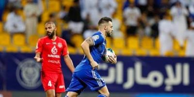 النصر يتوج بلقب كأس الخليج العربي الإماراتي بفوزه على شباب الأهلي دبي